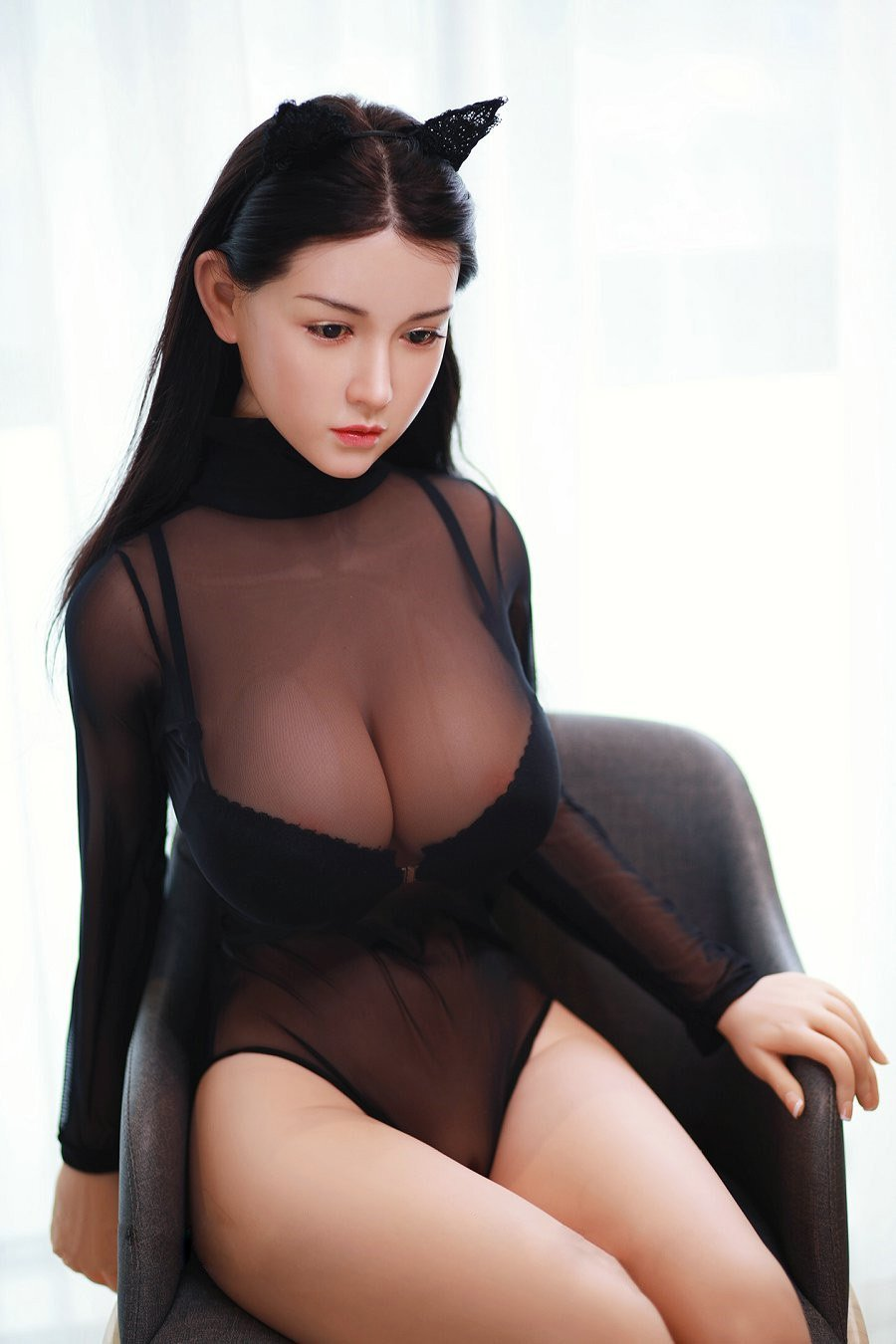 Av Ultra Realistic High Quality Solid Silicone Sex Doll Man Adult Toy
