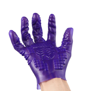 Magic Palm Flirting Masturbation Massage Gloves