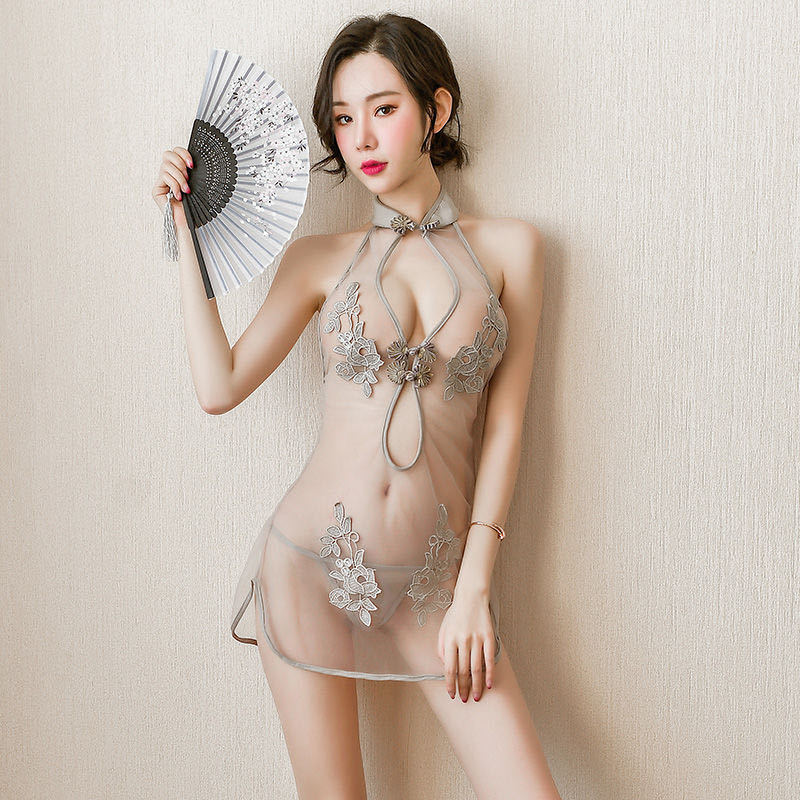 Lace uniform Woman cheongsam suit sexy lingerie
