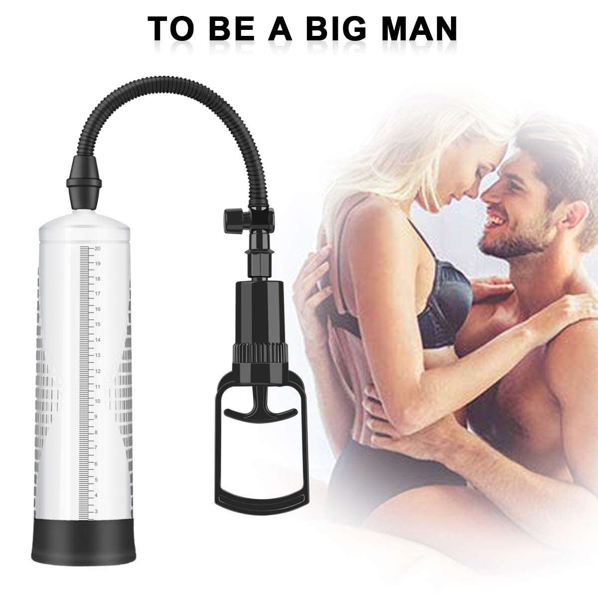 Men vacuum penis pump manual penis magnifier erection enhancement sex toys