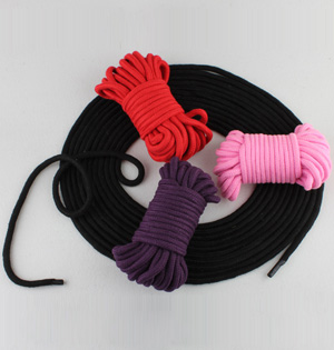 Adult sex toys cotton rope tie up